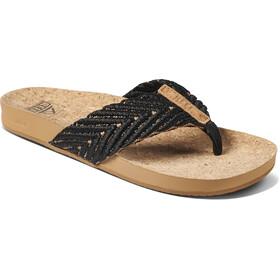 Reef Cushion Strand Sandals Women, negro/beige
